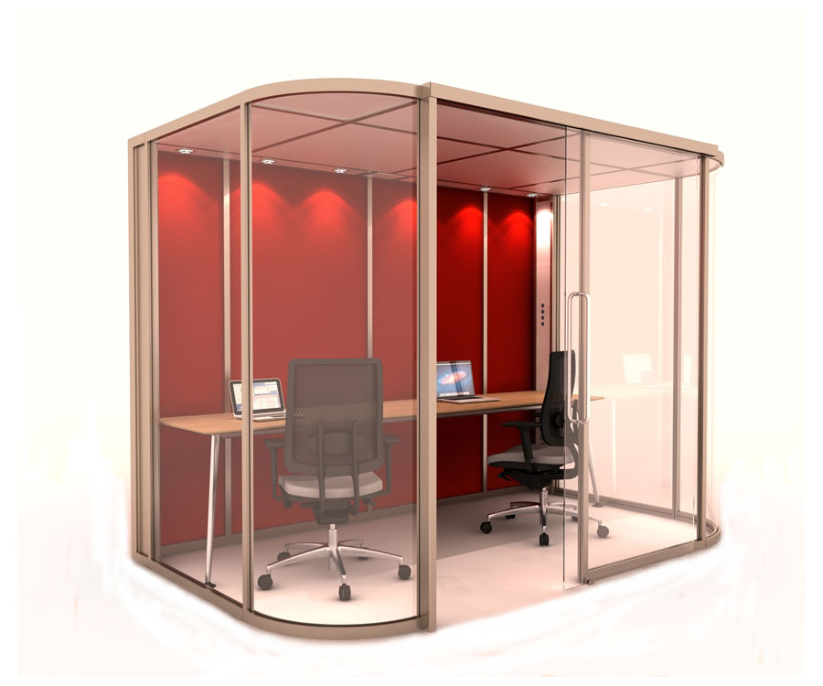 BOSS Unifi Vista 1 Office Pod