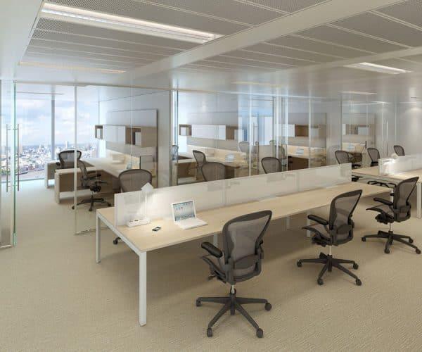 Layout studio office environment