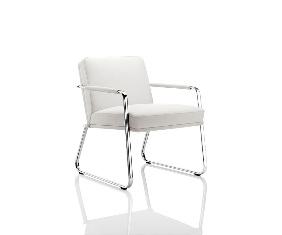 Boss Optima White Chair