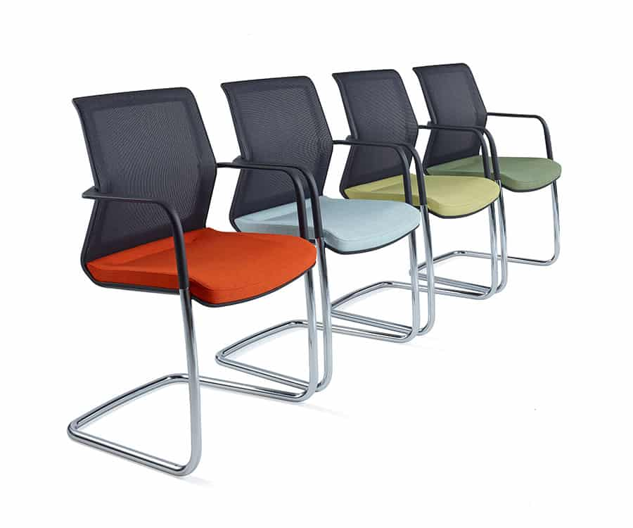 Orangebox Workday Meeting Chair colour options