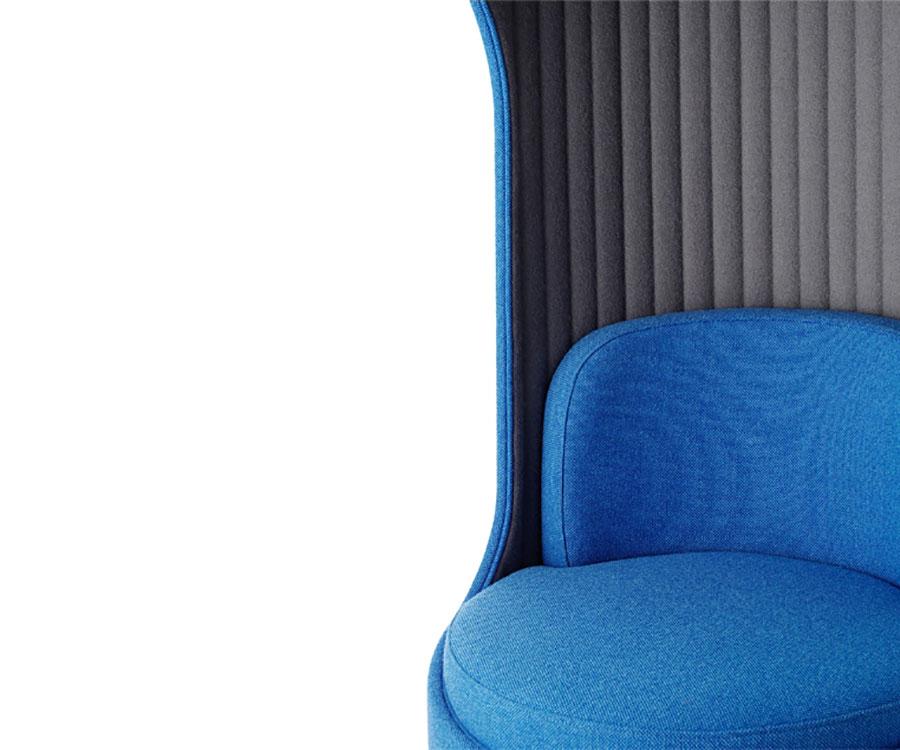 Boss Cega Sofa Pod Blue
