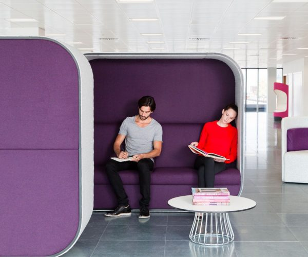 Reception Boss Cocoon Seating