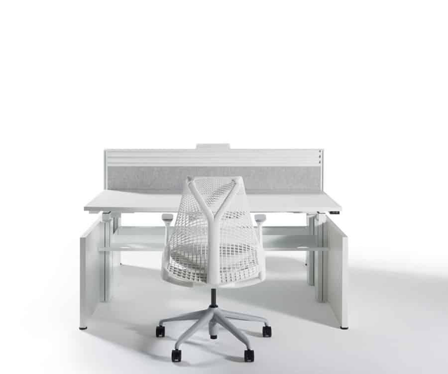 Herman Miller Abak Single Desk