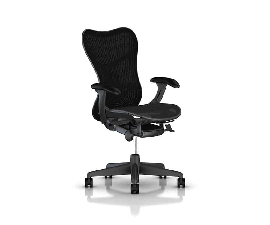 Herman Miller Mirra Seat side