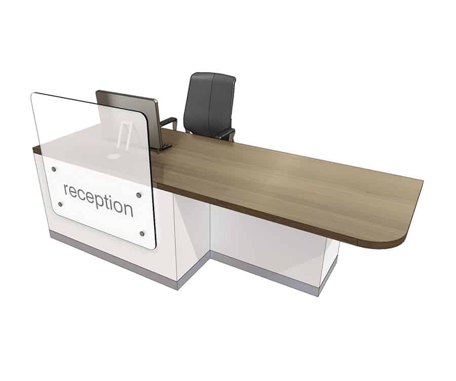 Clarke Rendall Left handed ZED desk