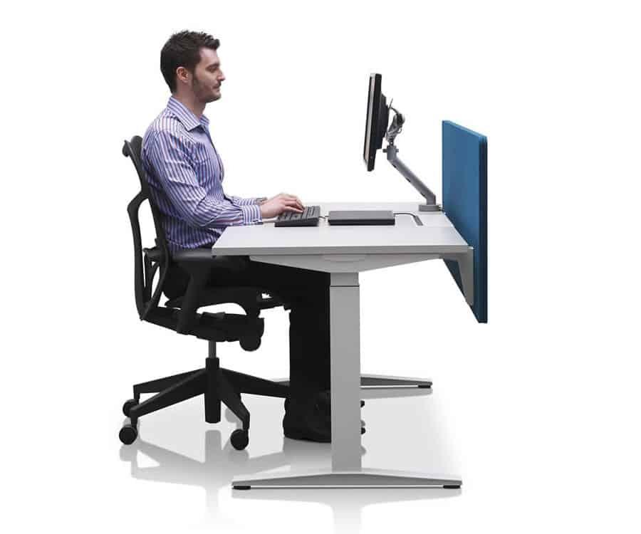 Treadmill Desk Programmer: Herman Miller Ratio Sit-Stand Desk